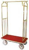 Luggage Carrier - Brass