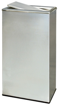 Stainless Steel Trash Can - Rectangular