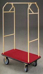 V-Series Bellman's Cart - Brass - GLR6140-BE