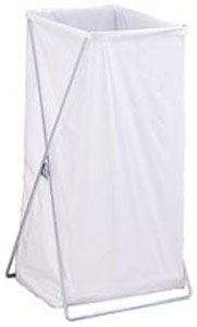 Stationary Wire Laundry Hamper
