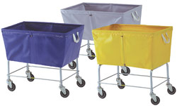 Elevated Laundry Hamper Carts - Large Capacity - Cloth Liner 463 464 466