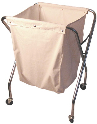 Commercial Grade Folding Laundry Cart