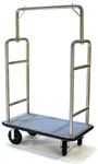 6 Wheel Bellman's Cart - Aluminum